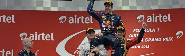 2013年 F1 第16戦 インドGP!