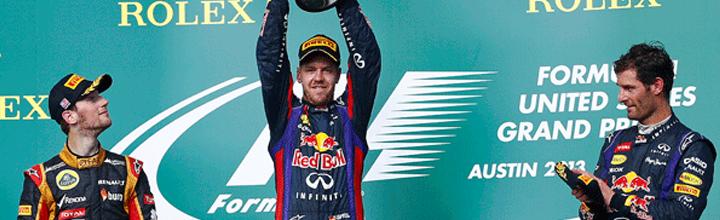 2013年 F1 第18戦 アメリカGP!